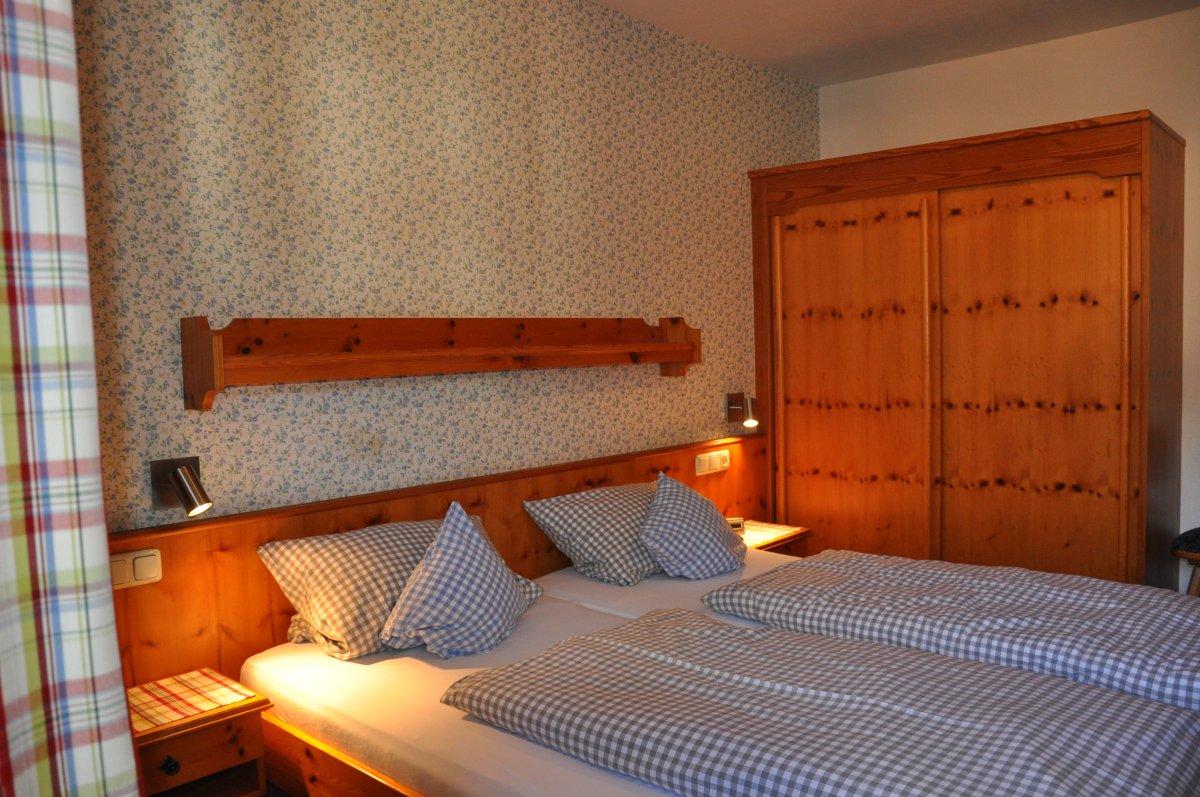 Ferienwohnung Ost Schlafzimmer