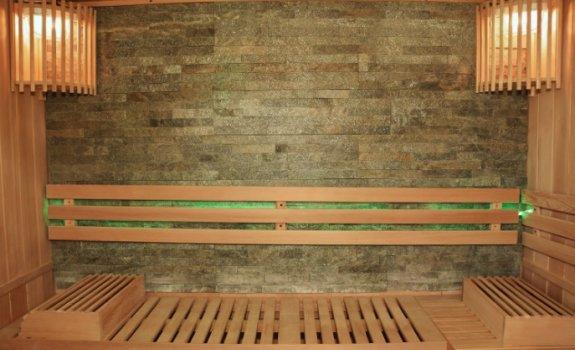 Sauna mit Ruhezone