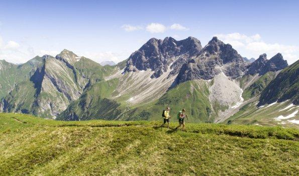 Wandern in den Oberstdorfer Bergen