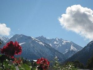Aussichten in die Berge