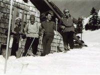 Skifahrer von damals!