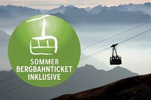 Sommer – Bergbahnen Inklusive
