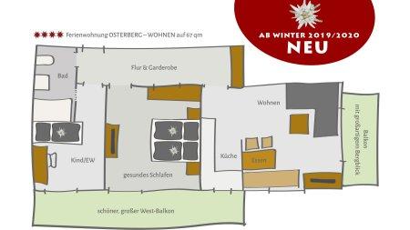 Grundriss Ferienwohnung Osterberg NEU FW 02