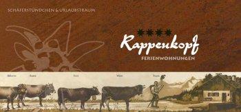 Urlaubstraum – Prospekt Gästehaus Rappenkopf