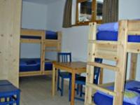 Zweiter Schlafraum für 4 Pers. neben dem Elternschlafzimmer in der FeWo Nebelhorn