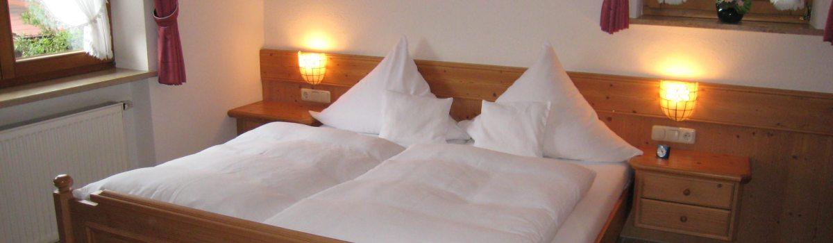 Schlafzimmer Ferienwohnung Nr. 3
