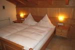 Schlafzimmer mit großem Westbalkon Ferienwohnung Nr. 4