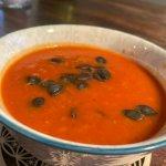 Tomaten-Birnensuppe