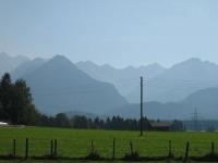 Blick in die Oberstdorfer Berge
