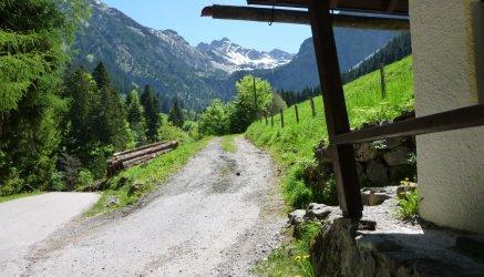 Weg zum Rubihorn