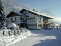 Unser Haus Sieglinde im Winter
