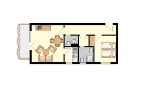 Floor Plan Room #3, #4 and #12