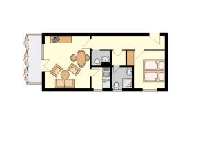 Floor Plan Room #3, #4 and #12