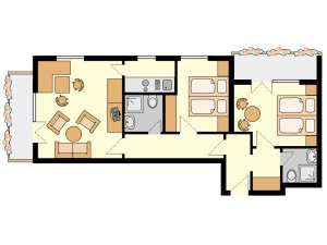 Floor Plan Room #6