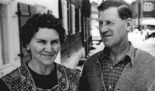 Grandma and Grandpa Sinz