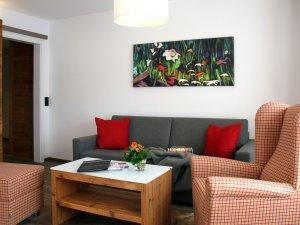 Wohnbereich - Ferienwohnung Nr. 3