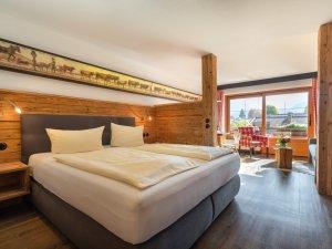 Gästehaus Sinz - Wohnung 9 / Schlafzimmer