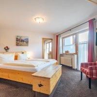 Gästehaus Sinz - Wohnung 14 / Schlafzimmer