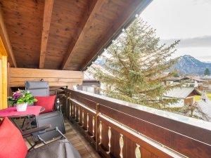 Gästehaus Sinz - Wohnung 8 - Balkon