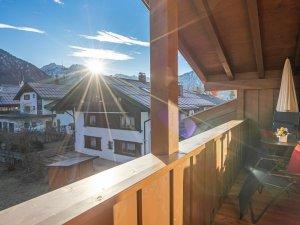 Gästehaus Sinz - Wohnung 12-Balkon