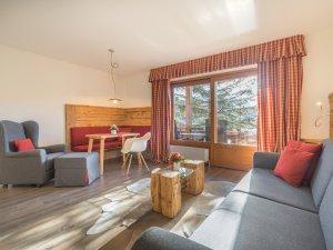 Gästehaus Sinz - Wohnung 4-Wohn-Essbereich