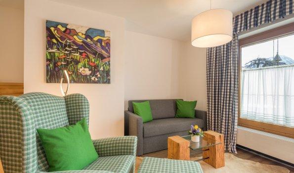 Gästehaus Sinz - Wohnung 2- Wohnbereich