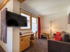 Gästehaus Sinz - Zimmer 16-Wohnereich