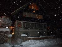 Haus Span im Winter - Herrlich es schneit!