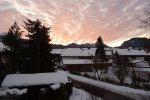 Haus Span - rosa Wolken über Oberstdorf