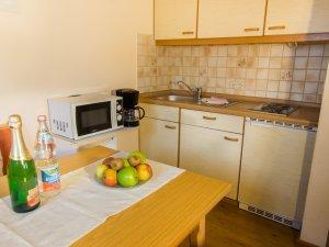 2-Raum Wohnung Nr.1+2 Küche