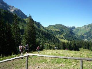 Bergtour Rappenseehütte