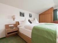 Schlafzimmer Ferienwohnung Nummer acht
