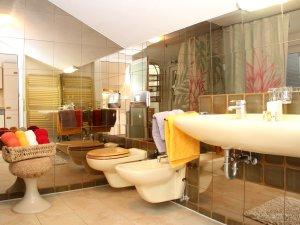 Ferienwohnung Trettach, Badezimmer