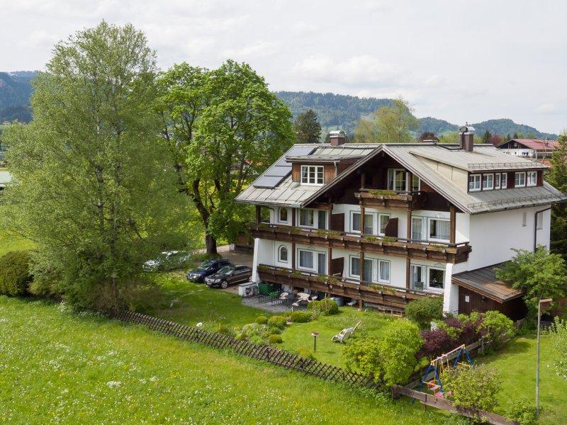 Haus Uhlenhorst aus der Vogelperspektive