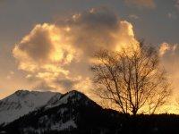 Sonnenuntergang am Söllerkopf