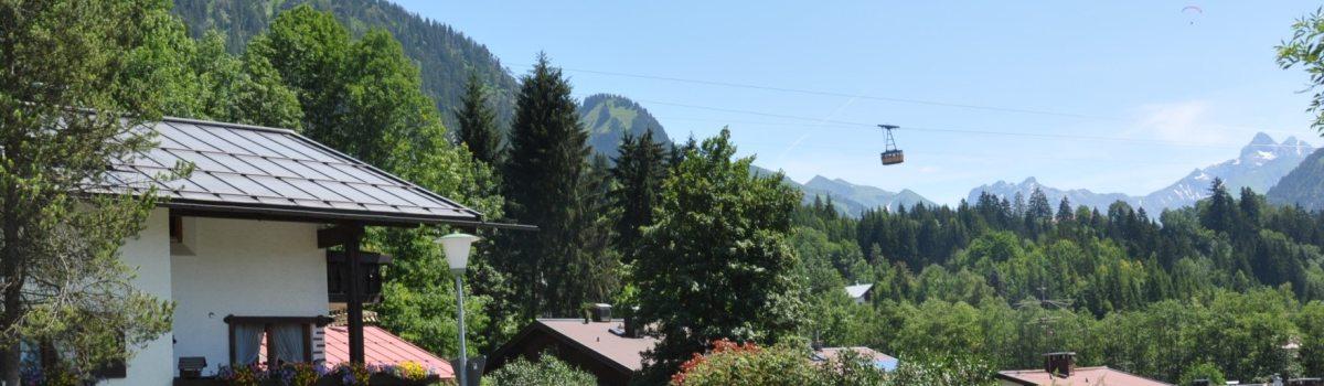 Haus mit Nebelhornbahn