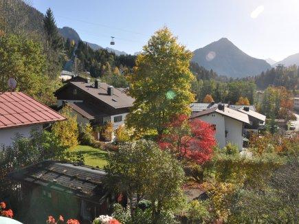 Herbstlicher Ausblick vom Haus