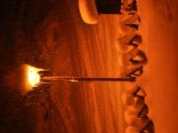 Winterliche Abendidylle