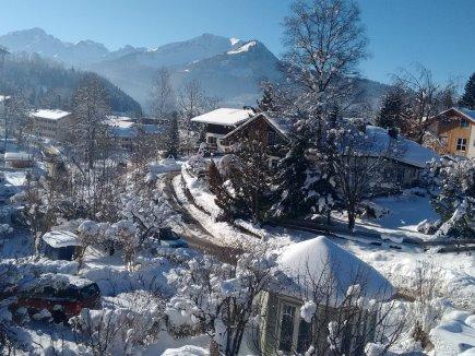 Winterwunder-Ausblick Wohnung 5