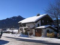Haus Zuflucht im Winter