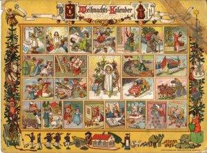 Adventskalender um 1900