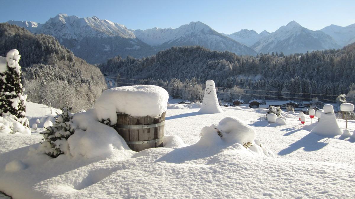 Herrliche Aussichten im Winter
