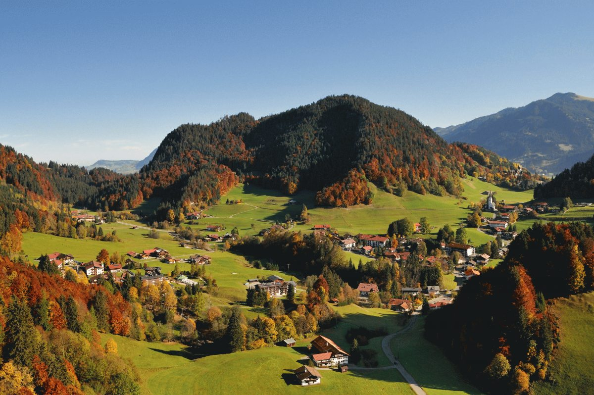 Blick auf Tiefenbach