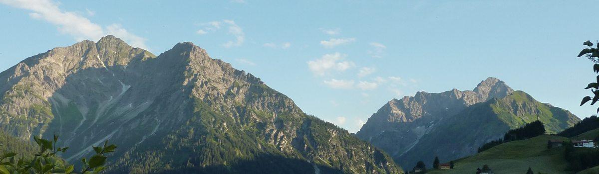 Aussicht Haus Himmelreich Kleinwalsertal