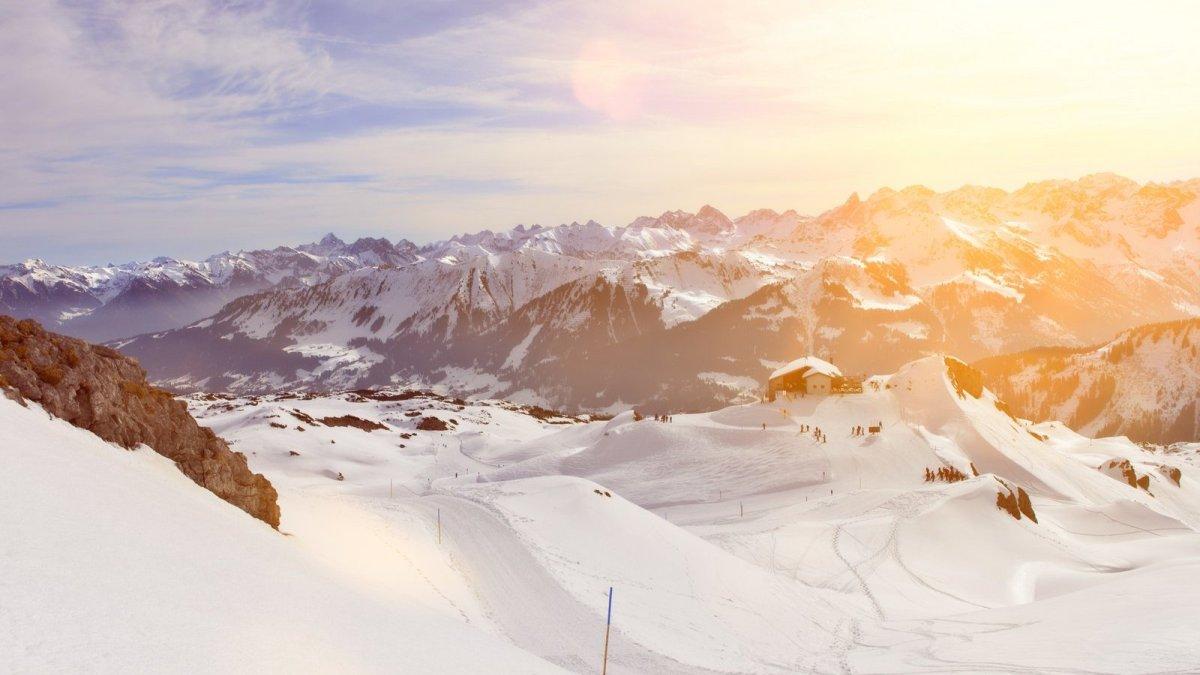 Ifen skiing
