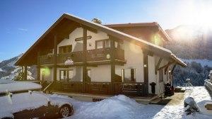 Haus Himmelreich im Winter