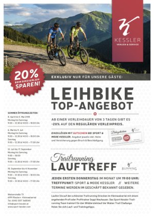 Bike-Top-Angebot 2018