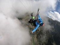 Wolken Nebel Halo Paragliding Oberstdorf