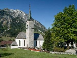 Kirche in Hinterstein