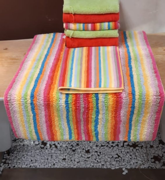 Handtücher aber 12,95 € | Badeteppich ab 22,95 €